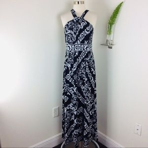 WHBM Gorgeous Floral Halter Maxi Dress Size (XS)